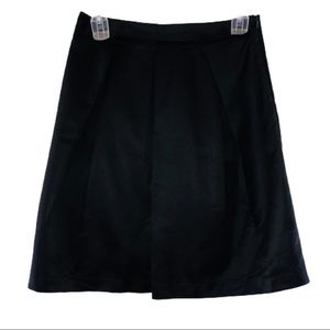 Simply Vera By Vera Wang Faux Silk Skirt Size 8